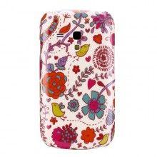 Forro Galaxy S3 mini - Carcasa Hippy Serie mod 4  Bs.F. 50,38