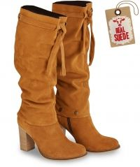 Sensational Slouch Suede Boots