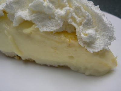 Sour Cream Lemon Pie!! Bitter Sweet Cake Shop: My favorite dessert of ...