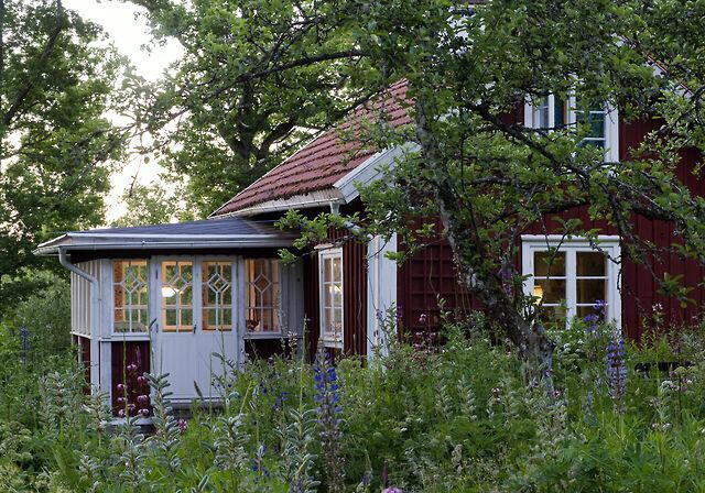 Traditional Swedish cabin