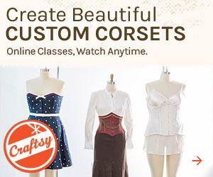On-line corset class you can take anytime anywhere www.craftsy.com/ext/LindaSparks_11113_H