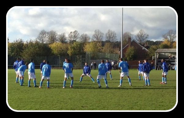 Warming up at the Hope for Jayden charity event at Alton Town FC Nov 3rd  @Celeb_FC