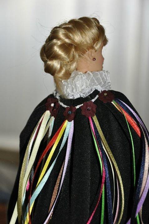 Barbie de la Comparsa de Estudiantes de las Fiestas de Moros y Cristianos de Elda (Alicante)