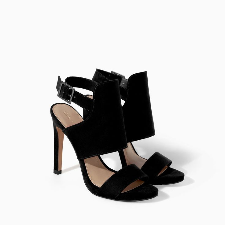 SANDALES ENVELOPPANTES TRF - Chaussures - FEMME | ZARA Maroc | See more about Zara, Wraparound and Sandals.