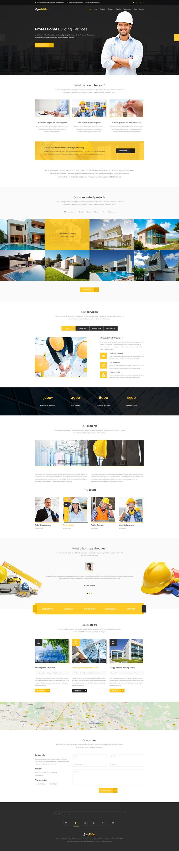 ZupaBuilder – Building and Architectural PSD Template • Download ➝ https://themeforest.net/item/zupabuilder-building-and-architectural-psd-template/13770759?ref=pxcr