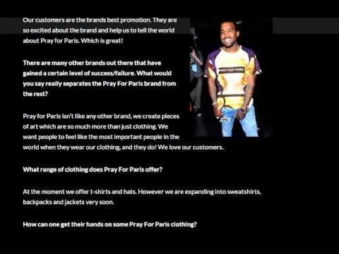 Kanye West promoting Pray For Paris predictive programming TWO YEARS bef...