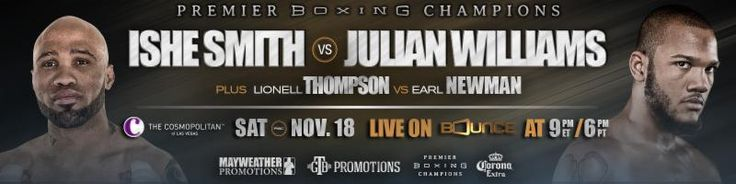 Julian Williams Scores Unanimous Decision Victory Over Ishe Smith in Exciting Main Event