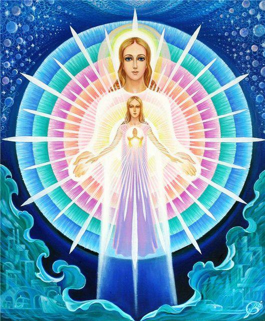 Я где-то прочитала, что триединство это, пожалуй, самое сложное из всего, что предлагает Творец. Самое сложное в беспредельности познания и, одновременно, самое простое.  Даже свойства воды имеют триединую природу: газообразное, жидкое, твердое.  Триединство выражает Закон совместного существования трех различных состояний.  Например, небо — человек — земля.  Дух — Душа — Тело.  Можно до бесконечности видеть во всем эту сущностную природу триединства!  Но не будем углубляться в философию…