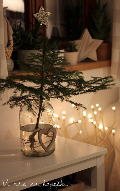 U nás na kopečku: vánoční výzdoba