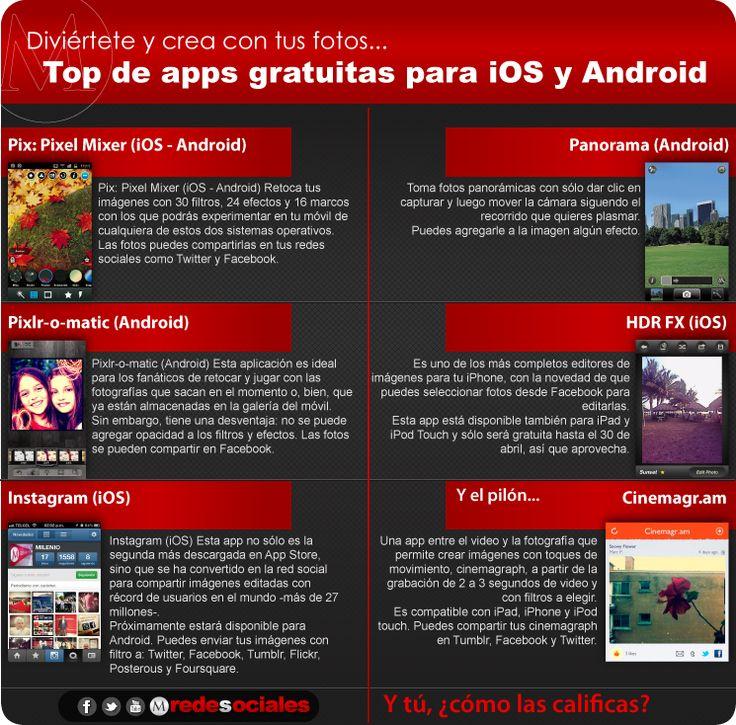 ¿Ya conoces estas aplicaciones para editar fotos desde tu móvil?