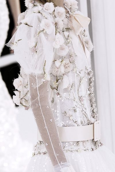 Detail at Chanel | Haute Couture