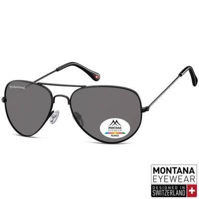e7739e9b03 Γυαλιά Ηλίου Aviator Montana Polarized MP96-BLACK-e-chap