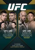 UFC 185: Pettis vs. Dos Anjos/UFC 186: Johnson vs. Horiguchi [3 Discs] [DVD]