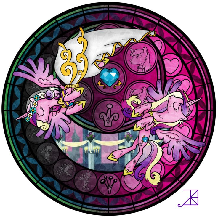 Stained Glass: This Day Aria by *Akili-Amethyst on deviantART
