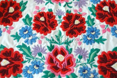 Traditional Clothe Pattern Royalty Free Stock Photo