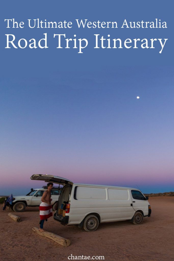 The ultimate road trip itinerary for Western Australia that will take you to the top places to see from Perth to Broome, Western Australia