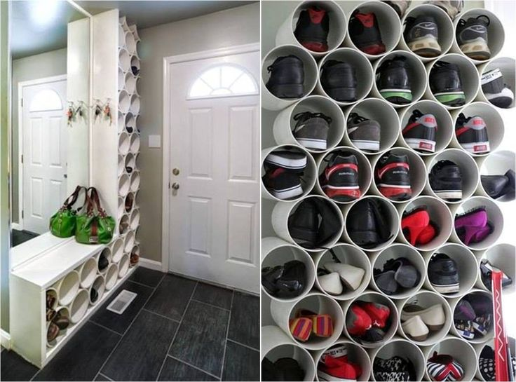 Now if I just had a walk-in closet... get those flip flops off the floor!