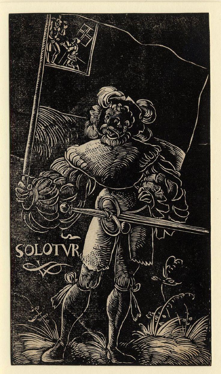 Standard Bearer of Solothurn by Urs Graf, 1521