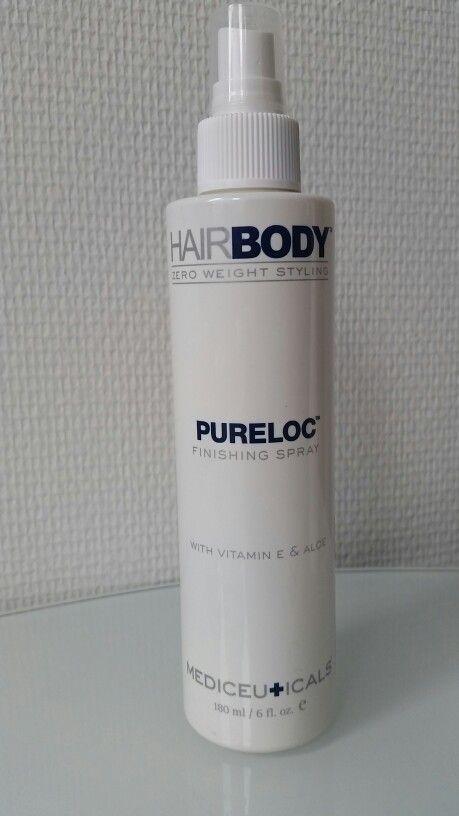 Nieuw Pureloc finishing spray