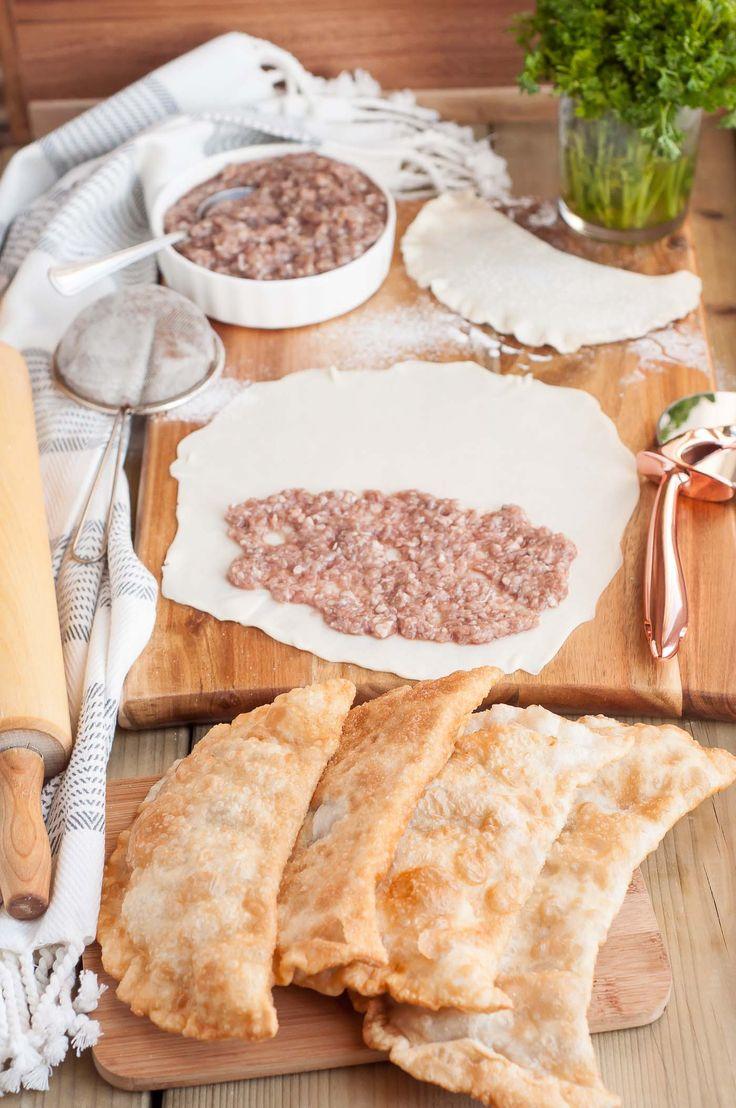 Russian Recipe: Meat Chebureki