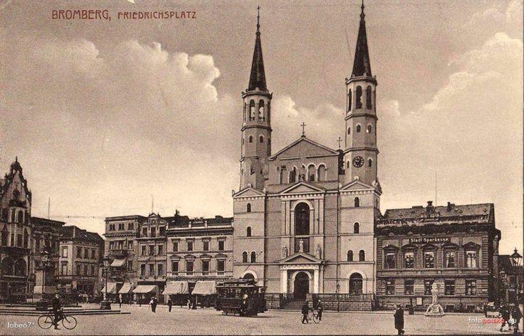 Kościół pojezuicki św. Ignacego Loyoli, Bydgoszcz - 1909 rok, stare zdjęcia