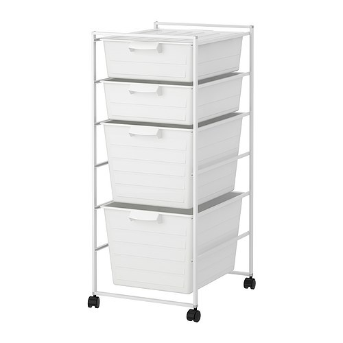 Storage system for closet (under clothing rack) - Antonius Frame (IKEA)