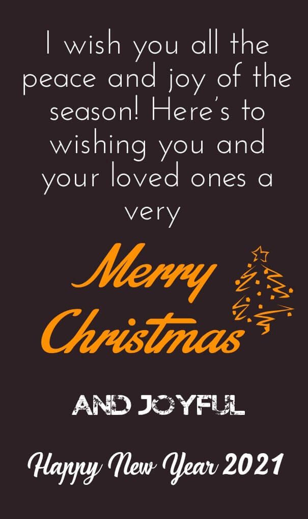 Merry Christmas And Happy New Year 2021 Quotes Wishes Messages Merry Christmas Wishes Messages Wishes Messages Merry Christmas And Happy New Year
