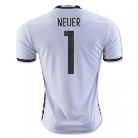 Tyskland 2016 Keeper Neuer 1 Hjemmedrakt Kortermet.  http://www.fotballteam.com/tyskland-2016-keeper-neuer-1-hjemmedrakt-kortermet.  #fotballdrakter