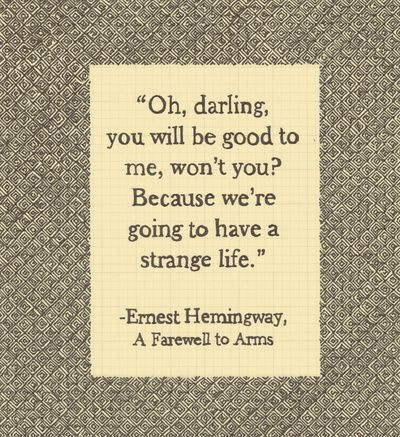 an analysis of the concept of ernest hemingways hero