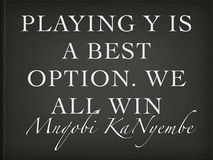 Playing X will always catch up with you in all aspects... I edge you to PLAY Y will all win  #Power  #xCsllence  #BeBestBeBrave  #iLoveiTThough
