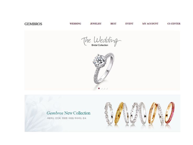 쇼핑몰 이름젬브로스쇼핑몰 주소http://www.gembrosmall.co.kr주력 상품주얼리 브랜드, 결혼예물, 프로포즈링, 커플링, 목걸이, 귀걸이 등 다이아몬드, 천연보석주타겟연령20대,30대,40대운영 방식선물포장 가능고객센터02 - 517 - 5728