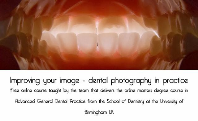 Free online course starting soon: Improving your image - dental photography in practice http://www.photography-news.com/2013/11/free-online-course-improving-your-image.html #MOOC