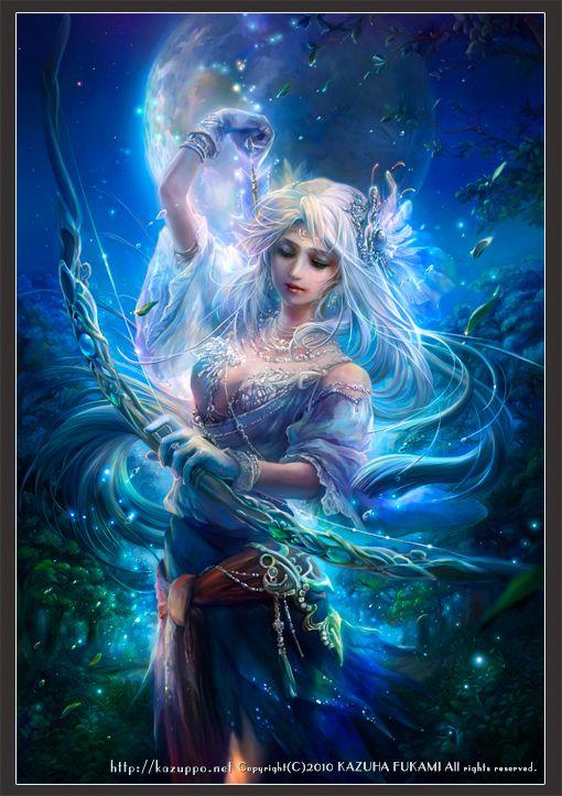 Ártemis: Deusa Grega da Caça e dos Animais muito considerada tbm a Deusa da Lua