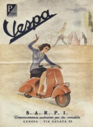 Pubblicità Vespa (1946)