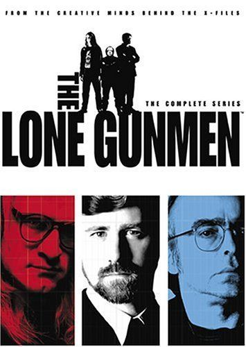 The Lone Gunmen (2001) Spin-off of The X-Files featuring the trio of computer-hacking conspiracy geeks popularly known as The Lone Gunmen. Never ones to stray far from the center of corporate and government intrigue, the threesome of John Byers, Melvin Frohike, and Richard Langly play like a misguided Mission Impossible team, embarking on a series of comic adventures that simultaneously highlight their genius and ineptitude.