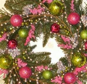 Bing Pink And Green Christmas Tree