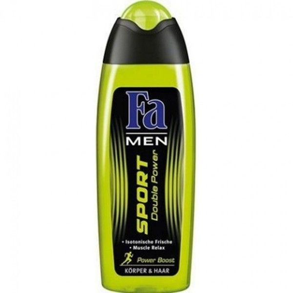 FA Shower MEN 250ml Sport Double Power - Power Boost Body & Hair 4015000998048