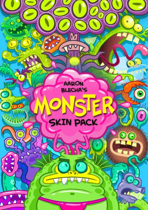 Monster Skin Pack - Aaron Blecha Illustration
