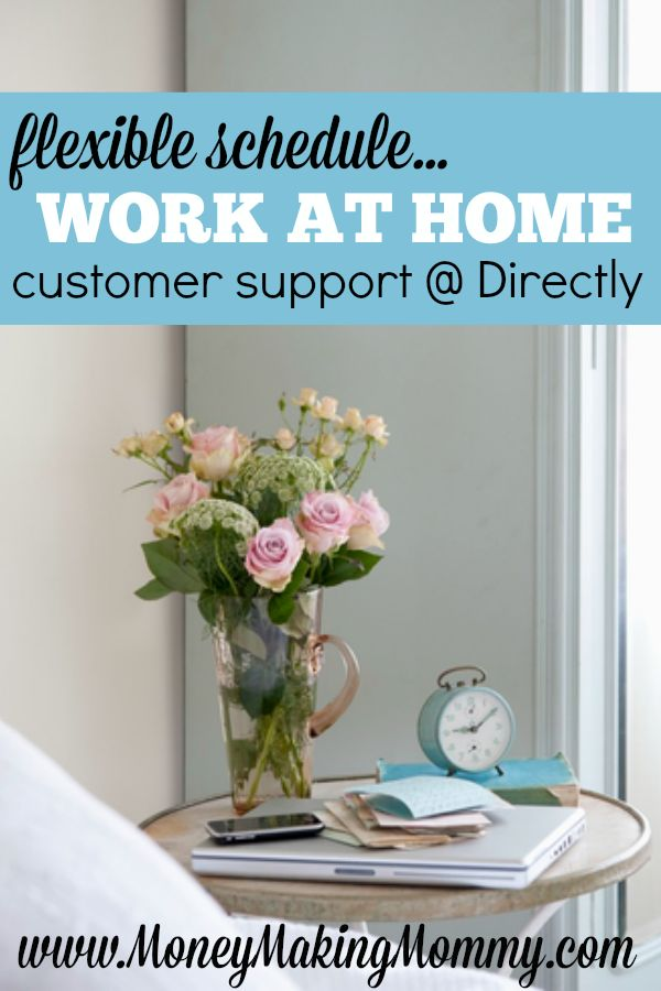 If you'd like to work at home and need a flexible schedule, read this review. Directly offers online customer service jobs that can be done right from home. MoneyMakingMommy.com