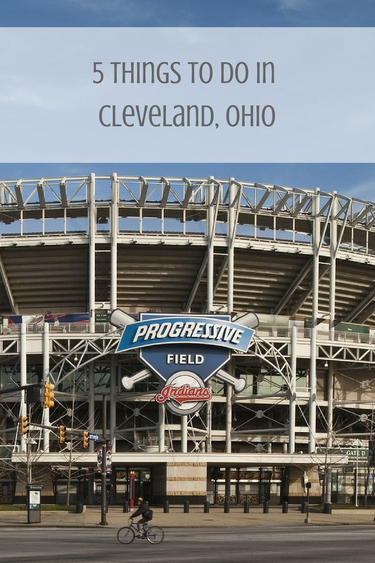 I had the chanceto visit family in Cleveland, Ohio for the first time. The trip was much needed.