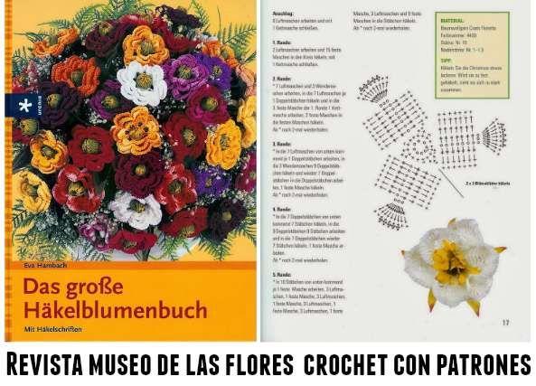 118 páginas con autenticas maravillas de flores crochet