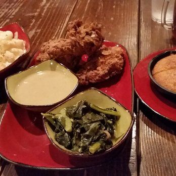 luella's southern kitchen chicago chicken and greens - Google Search