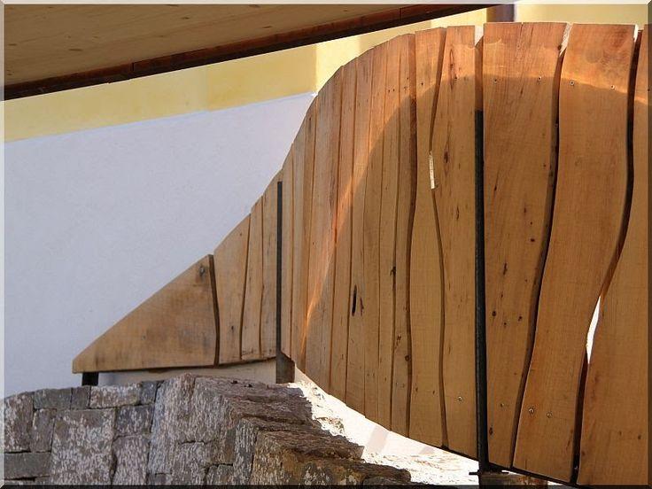 éger deszka kerítés