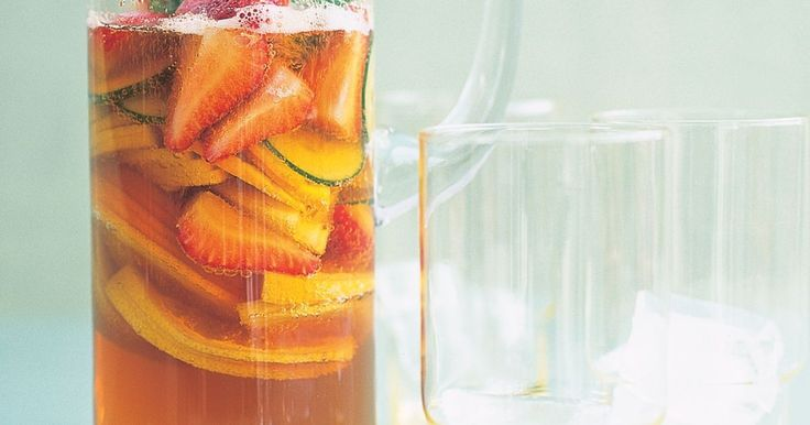Nothing says summer quite like a glass of Pimm's punch.