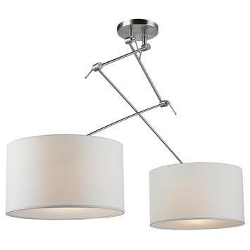 Hanglamp Tirza wit 2-lichts in de beste prijs-/kwaliteitsverhouding, uitgebreid assortiment bij GAMMA