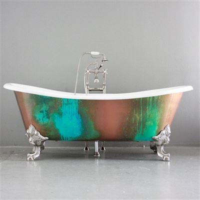 TOUCH this image: Penhaglion: Clawfoot Bathtub in St. Petersburg FL by Penhaglion