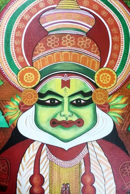 78 Best Kathakali Masks Images On Pinterest Indian
