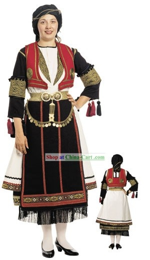 Traditional Greek Dance Costume