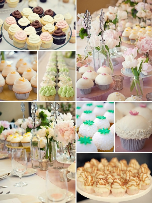 cute cupcake table