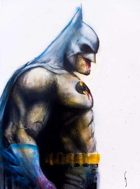 Batman by Heesco.